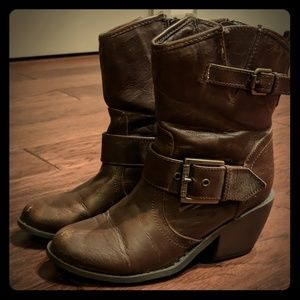 G by Guess Mid-rise Cowboy boots/booties